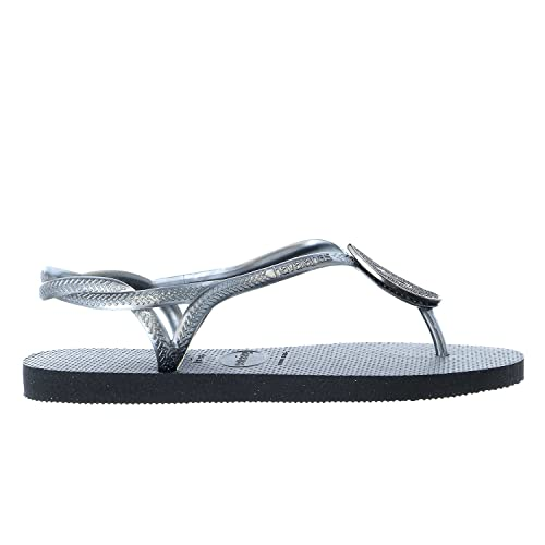 759e5a0b1cae Havaianas Womens Luna Special Sandal 4135164 Black 41-42 BR   11-12 B(M)  US  Buy Online at Low Prices in India - Amazon.in