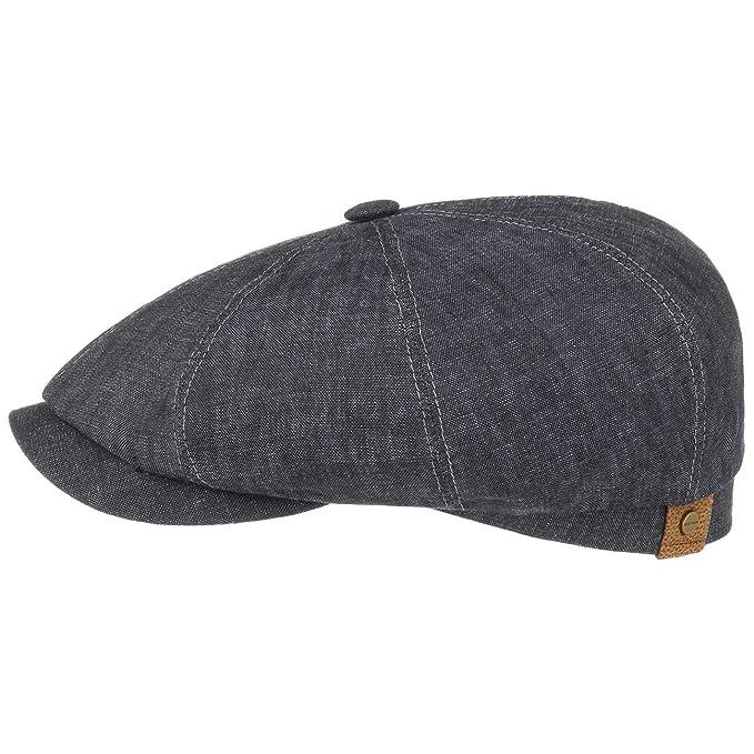 Stetson Hatteras Flatcap de Lino para Mujer Hombre  6f50e538ddd