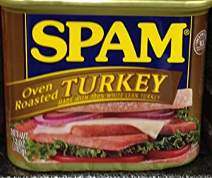 Spam Oven Roasted Turkey 12 oz (Pack of 12)