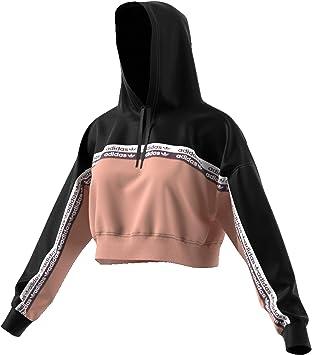 Sweat à Capuche Femme Adidas Cropped Originals: