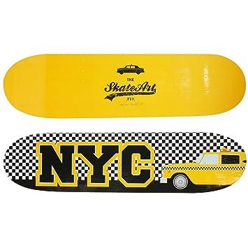 New York U2013 Wandregal Form Trend Skate Board Doppelseitig USA New York City