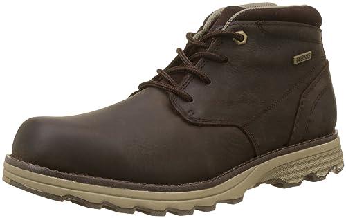 Caterpillar Elude WP, Botas Chukka para Hombre, Marrón (Dark Brown), EU: Amazon.es: Zapatos y complementos