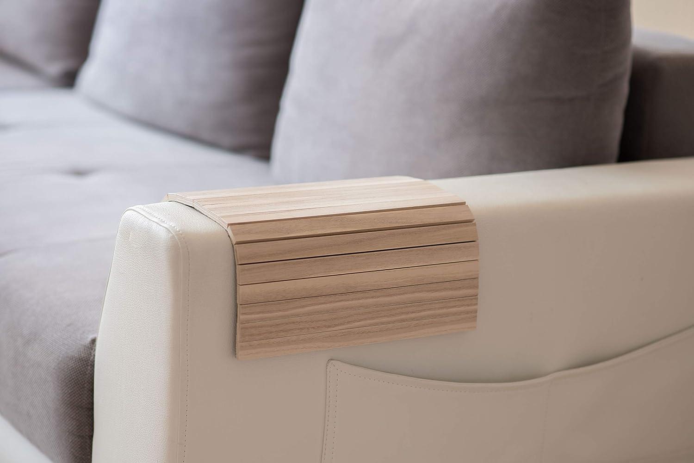 Armlehnenschoner Aus Holz Sofa Ablage Untersetzer Sofa Tablett Farbe 1 Küche Haushalt
