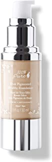 product image for 100% PURE Fruit Pigmented Healthy Foundation, White Peach, Liquid Foundation Makeup, Anti-aging, Full Coverage, Matte Finish - 1 Fl Oz