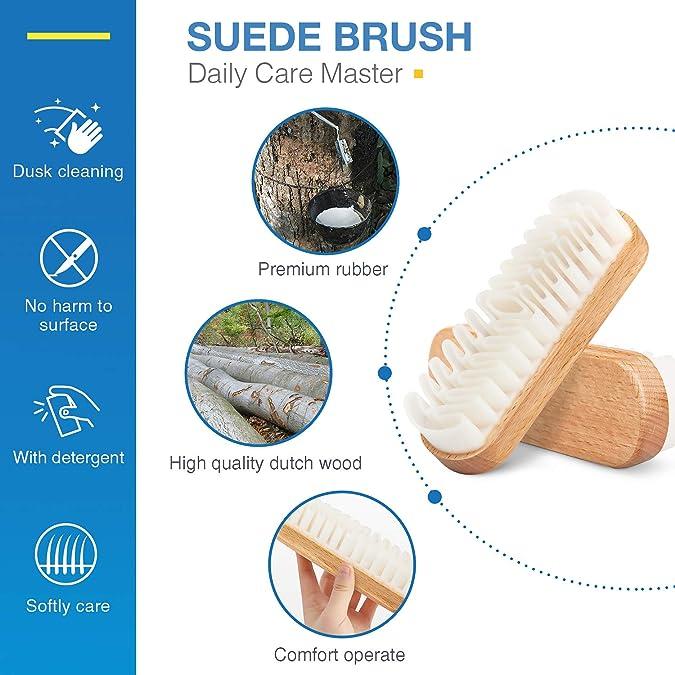 Amazon.com: Juego de cepillo de ante y limpiador Nubuck ...