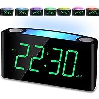 Reloj de Alarma Digital Despertador para Niños, Ancianos