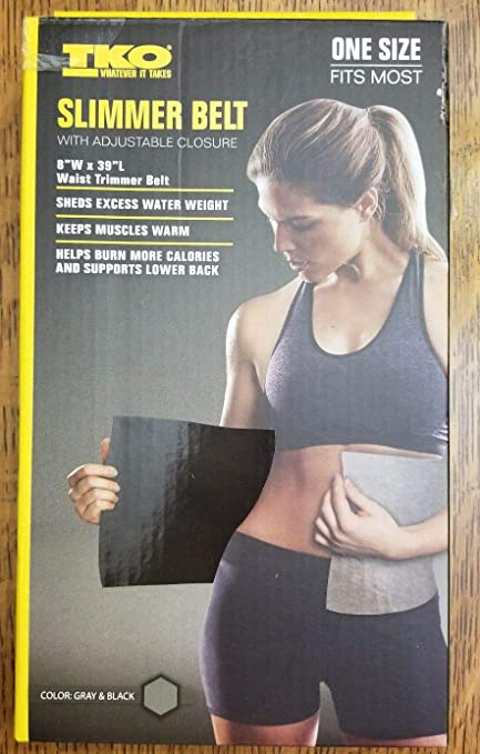 5ada26eca6 Image Unavailable. Image not available for. Color  TKO Slimmer Belt. Waist  Trimmer ...