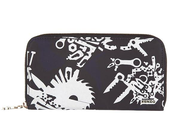 Kenzo portefeuille porte-monnaie femme deux plis blanc  Amazon.fr ... f5dd35302d2