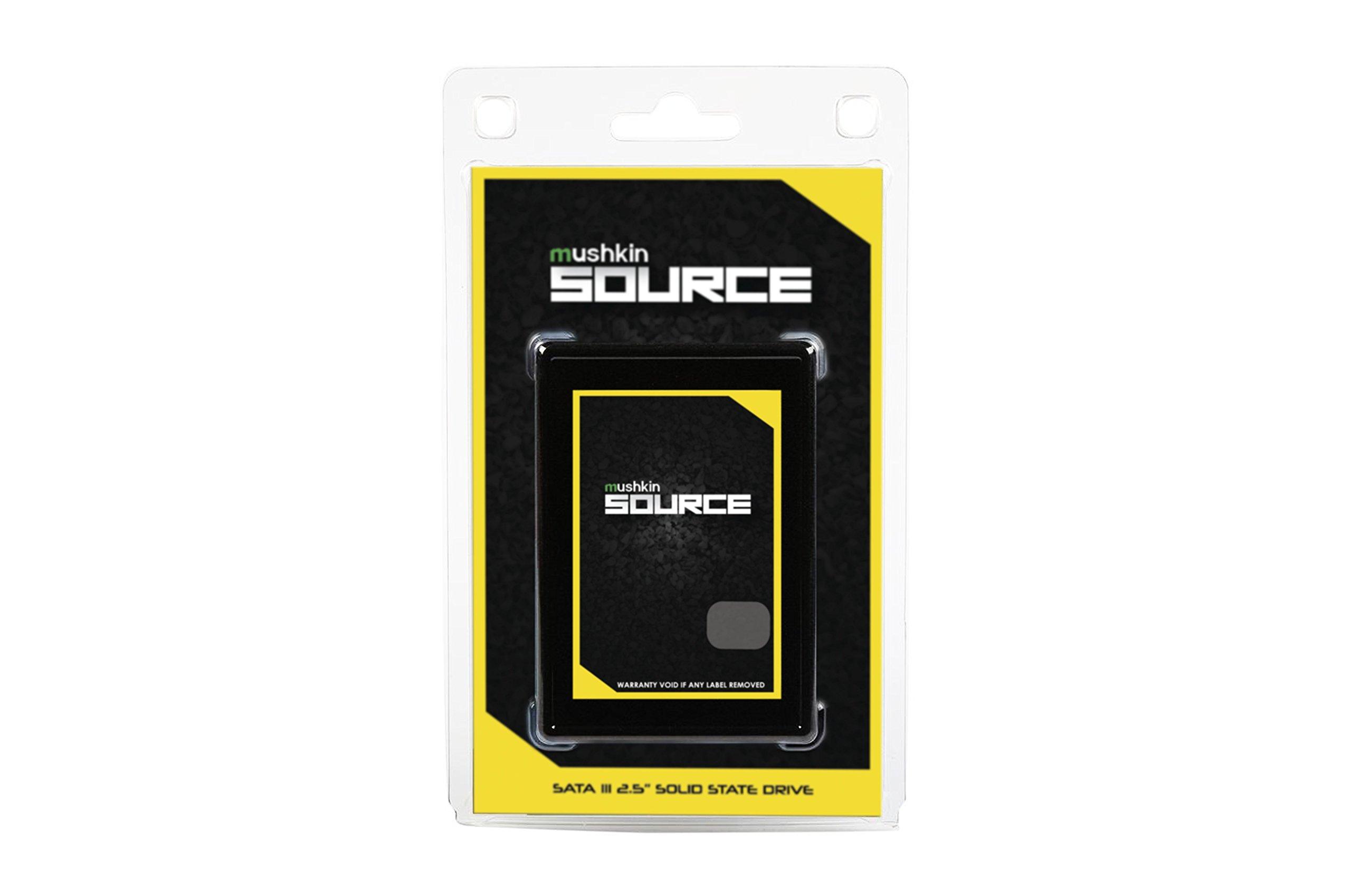 Mushkin Source - 1TB Internal Solid State Drive (SSD) - 2.5 Inch - SATA III - 6Gb/s - 3D Vertical TLC - 7mm - (MKNSSDSR1TB), Black by Mushkin (Image #5)