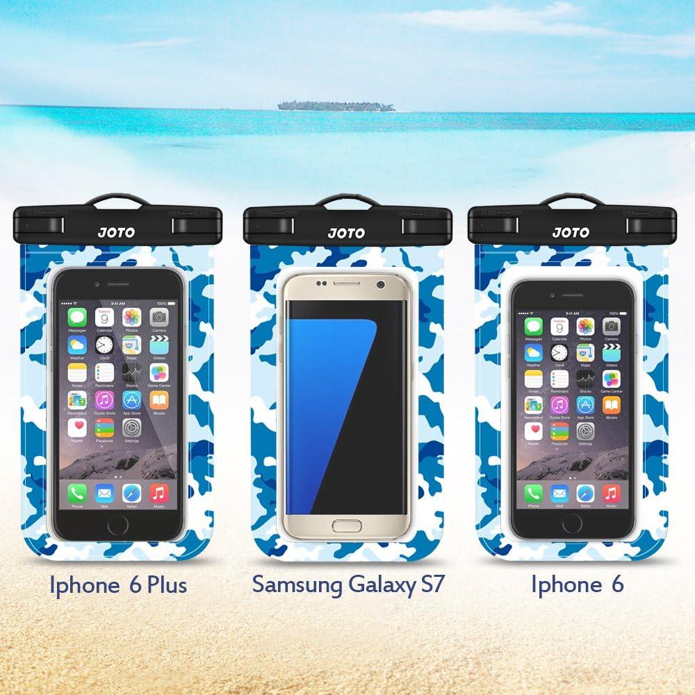 JOTO Universal wasserdichte H/ülle Galaxy S9//S8 Plus//Note 9 8 6 5 Huawei Mi Moto Nokia Pixel4//3//2//XL,bis zu 6.5 -Klar Lila Handy trocken Tasche f/ür iPhone XS Max//XR//X//8//7//7 Plus//6S Plus