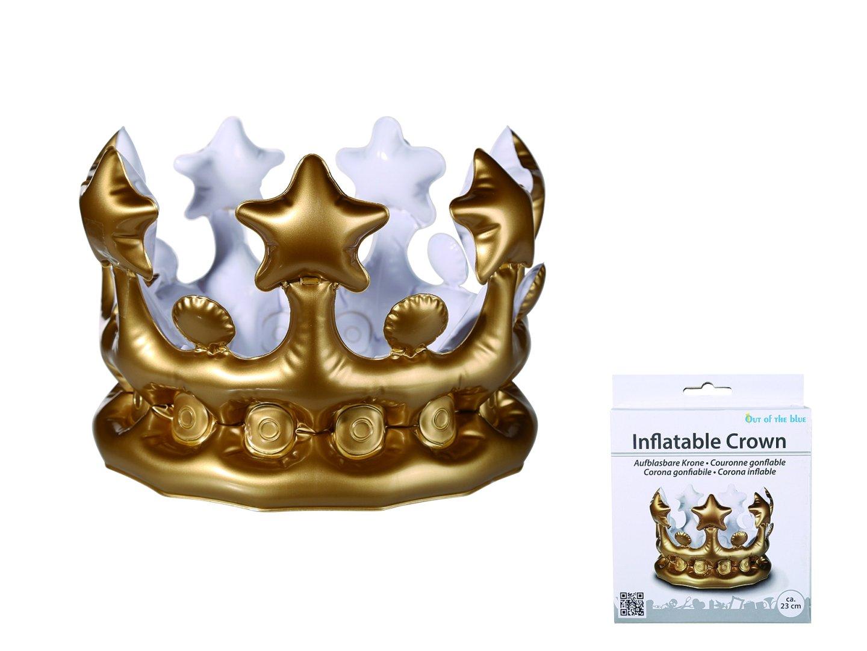 Preis am Stiel 1 x Aufblasbare Krone   Partyaccessoire ...