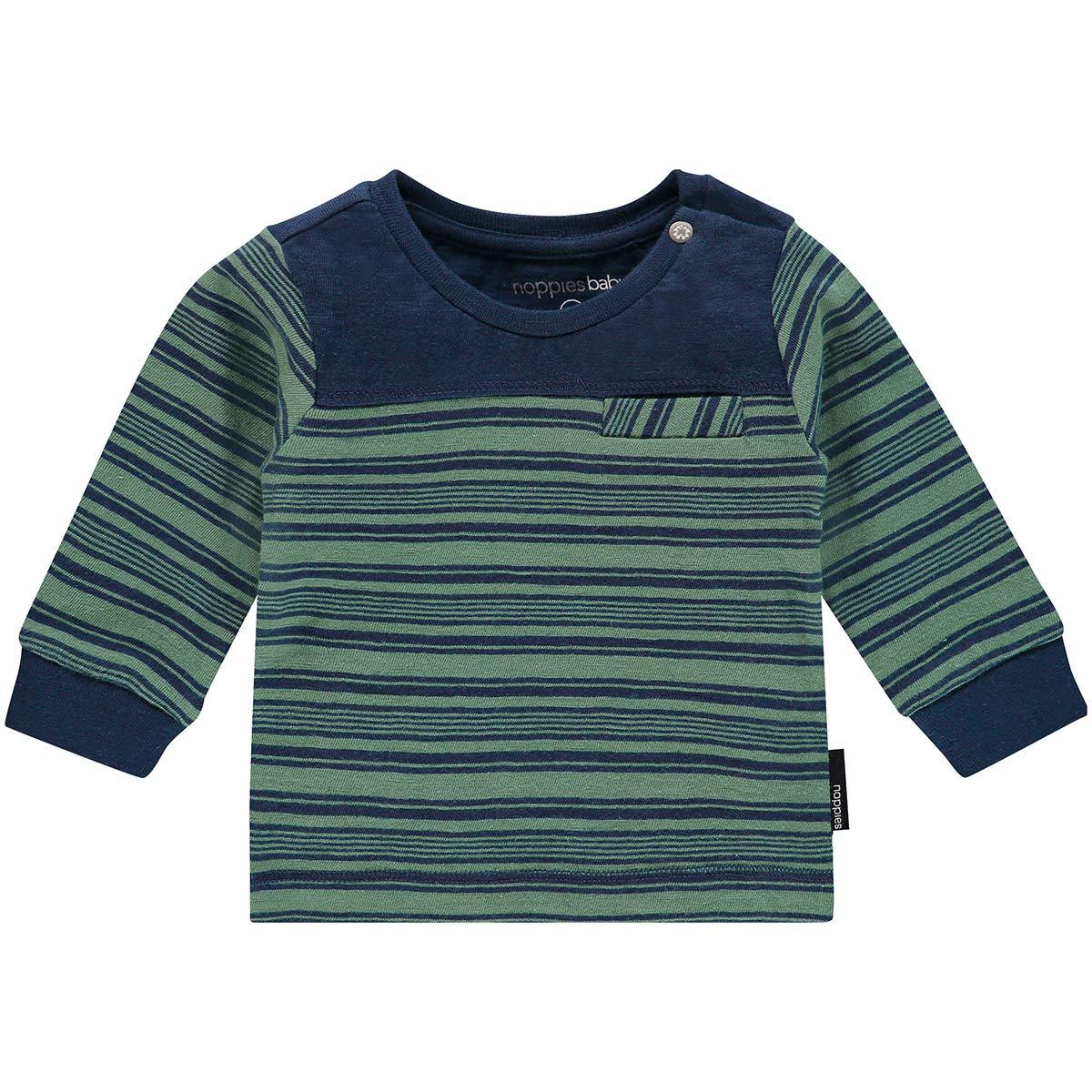 Noppies B tee LS Vallejo Str, Camiseta de Manga Larga Unisex bebé Camiseta de Manga Larga Unisex bebé 84633