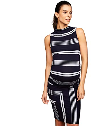abf91a5fc3cdd A Pea in the Pod Side Ruched Maternity Dress at Amazon Women's Clothing  store: