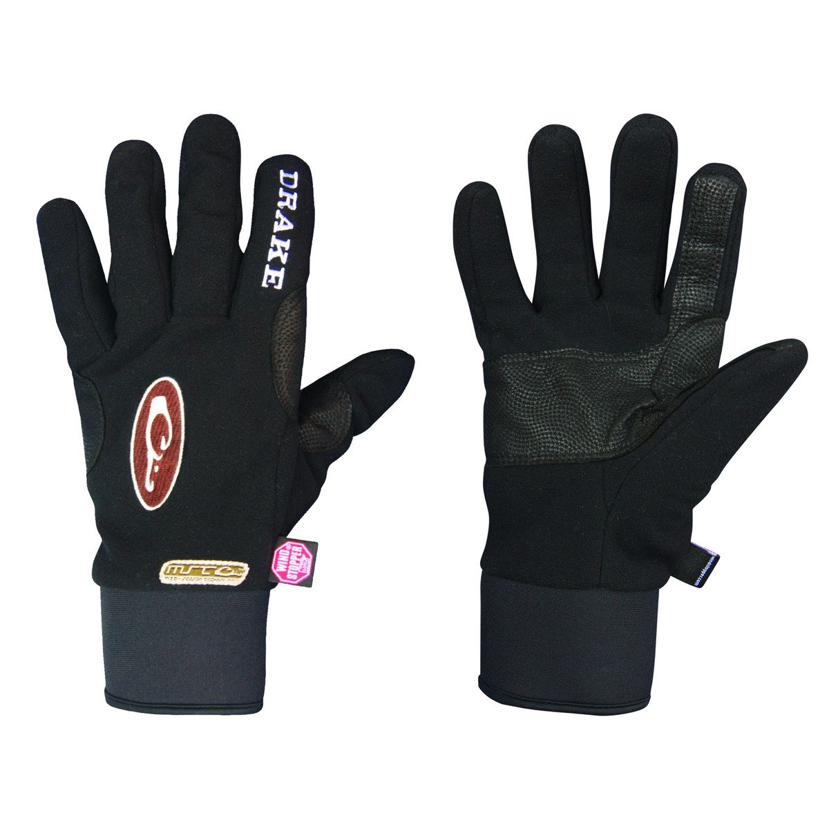Drake MST Windstopper Fleece Shooters Glove Small Black by Drake