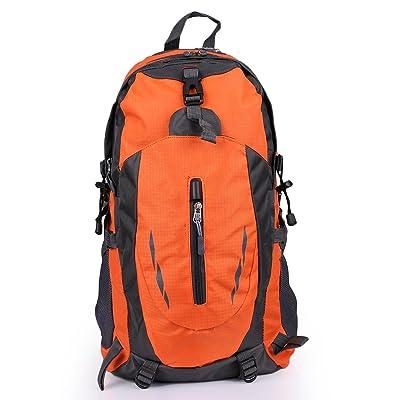 Xuanytp Sacs résistants à l'eau de sac à dos de sac à dos de voyage de nylon pour le camping extérieur de randonnée