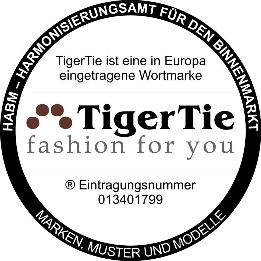Homme Uni TigerTie N/œud papillon