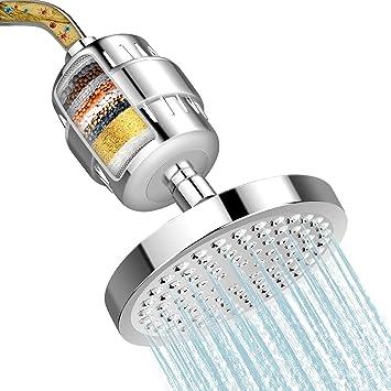Bath Shower Purifier Removes Head Filtration Filter Hard Water Chlorine Softener