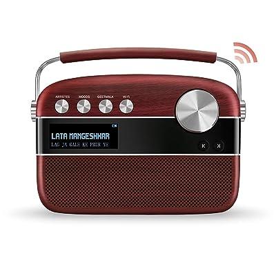 SAREGAMA Carvaan SC01 Portable Digital Music Player - Hindi (with App WiFi, Cherrywood): Electronics