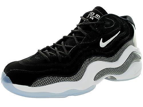 timeless design 15092 09b18 Nike para Hombre Air Zoom Vuelo 96 Penny Hardaway Zapatillas de Baloncesto,  Multi (Negro Blanco), 15 M US  Amazon.es  Zapatos y complementos