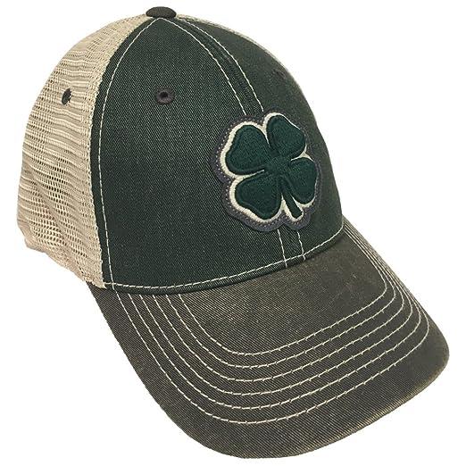 bc47c387815 Black Clover Dark Green Black Stone 2-Tone Vintage  8 Snapback Hat ...