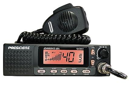 Amazon President Electronics Johnson Ii Usa Cb Radio 1224v. President Electronics Johnson Ii Usa Cb Radio 1224v. Wiring. President Cb Radios Mic Wiring At Scoala.co