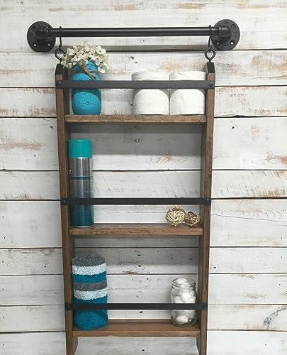 Bathroom ladder shelf for Bathroom ladder shelf