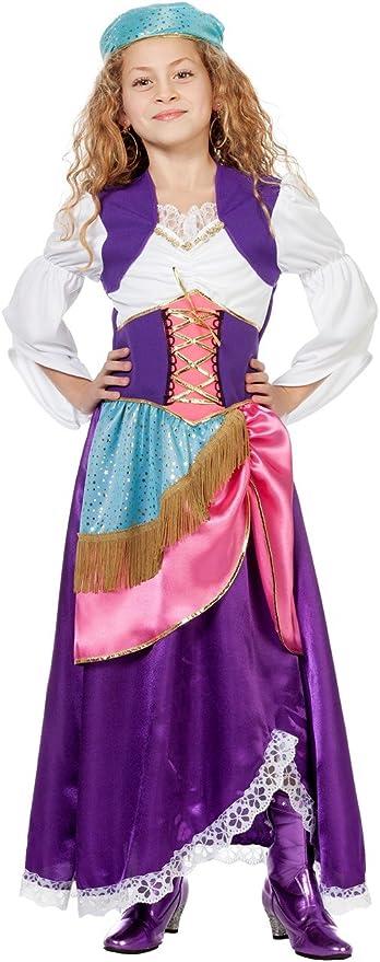 Wilber 3382 para disfraz de gitana para niños: Amazon.es: Juguetes ...