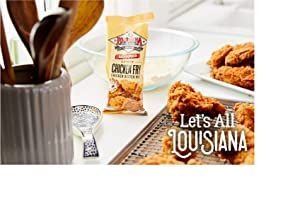 Louisiana Fish Fry, Chicken Fry, 9 oz (Pack of 4)