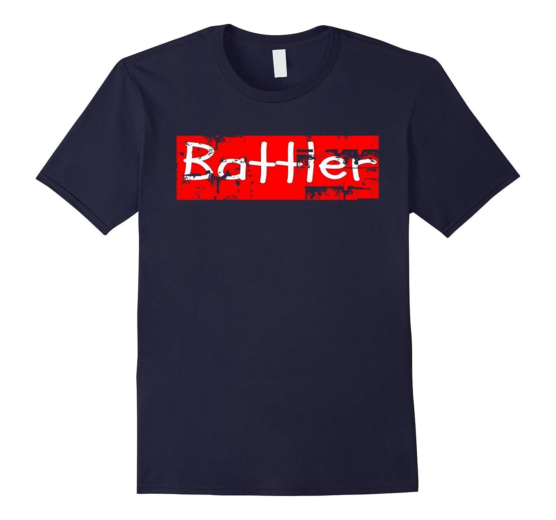 Battler Encouraging Mental Health Recovery T Shirt-Art
