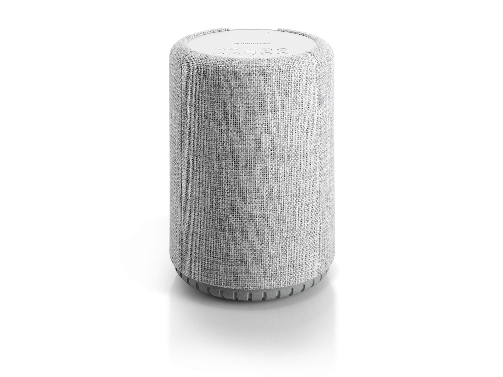 Audio Pro A10 Wireless Multi-Room WiFi Bluetooth Connected Speaker - HiFi - Compatible with Alexa - Light Grey