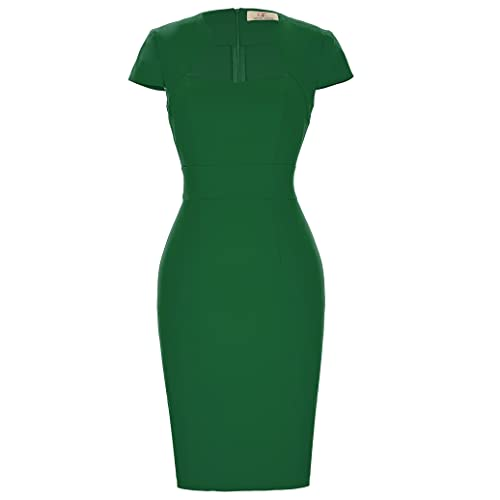 GRACE KARIN Women Vintage Dress Bodycon 1950s