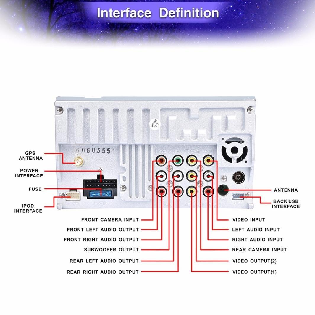 2 Din Dvd Nav Wiring Diagram Online Schematics Amazon Com Boddenly 7 Bluetooth Touch Screen Car Cd Direct Tv Satellite Box Hook Up Recorders