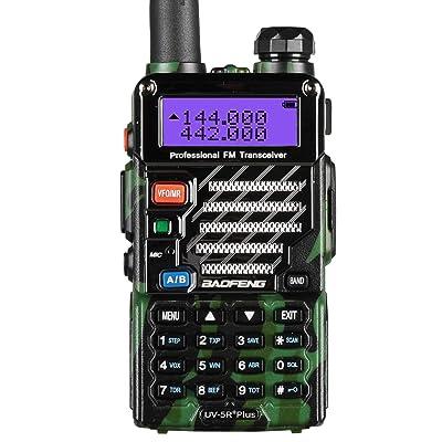 BaoFeng UV-5R Plus Qualette Two way Radio (Jungle Camouflage)