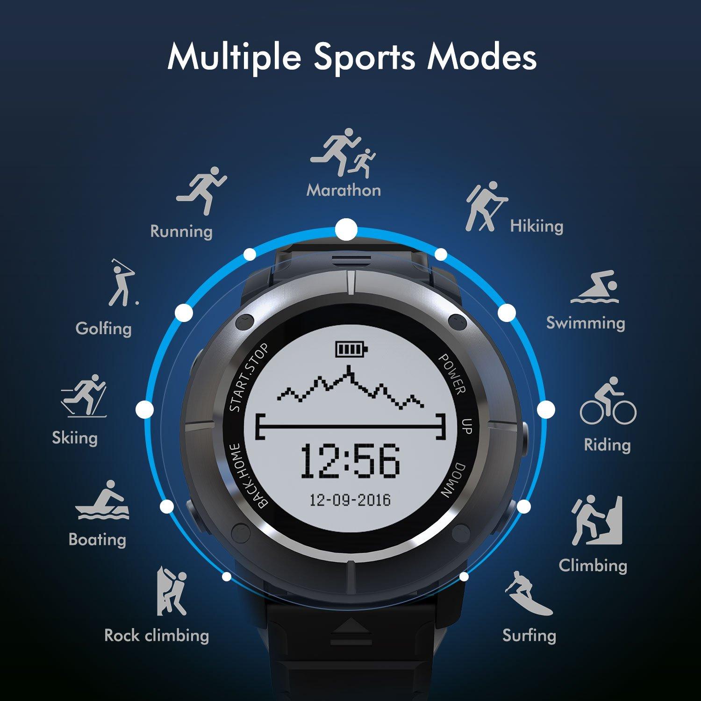 Oferta] Smartwatch GPS Deportivo Impermeable, HAMSWAN Reloj ...