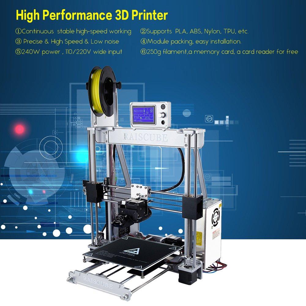 aibecy impresora 3d en Kit en aluminio 3d Printer autoensamblaje ...