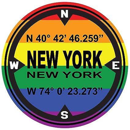Amazon.com: Ninja Pickle D.M.S. Coordinates New York Gay ...