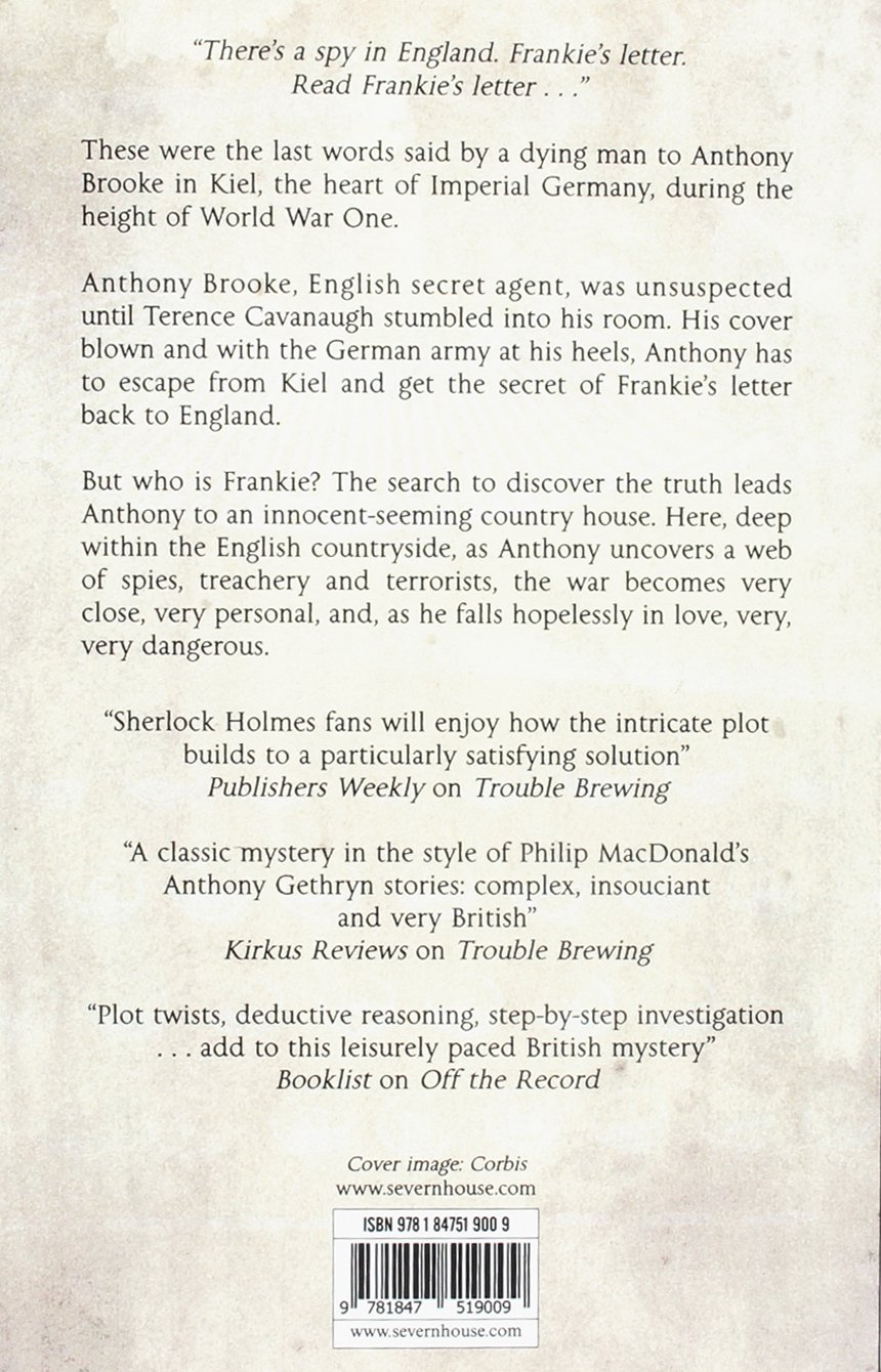 Frankie's Letter: Amazon co uk: Dolores Gordon-Smith