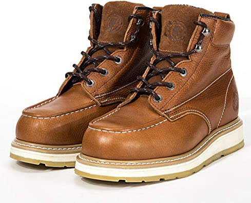 Composite//Soft Toe Waterproof Safety Working Shoes ROCKROOSTER Work Boots for Men