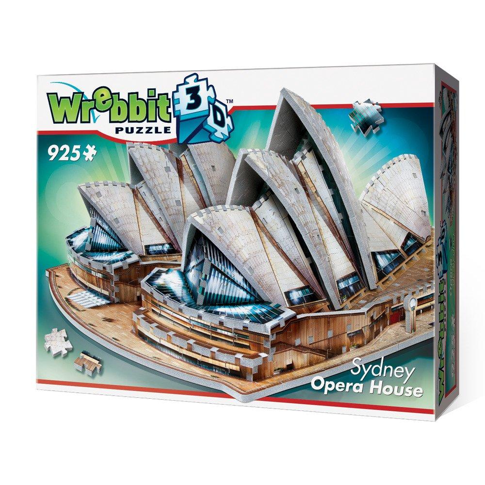WREBBIT 3D Sydney Opera House 3D jigsaw puzzle (925-piece) WREBBIT PUZZLES W3D-2006