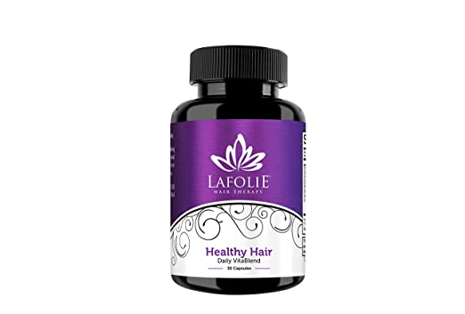 Amazon.com: La Folie Hair Therapy - Healthy Hair - Daily Vita Blend- Biotin- 30 Capsules: Health & Personal Care
