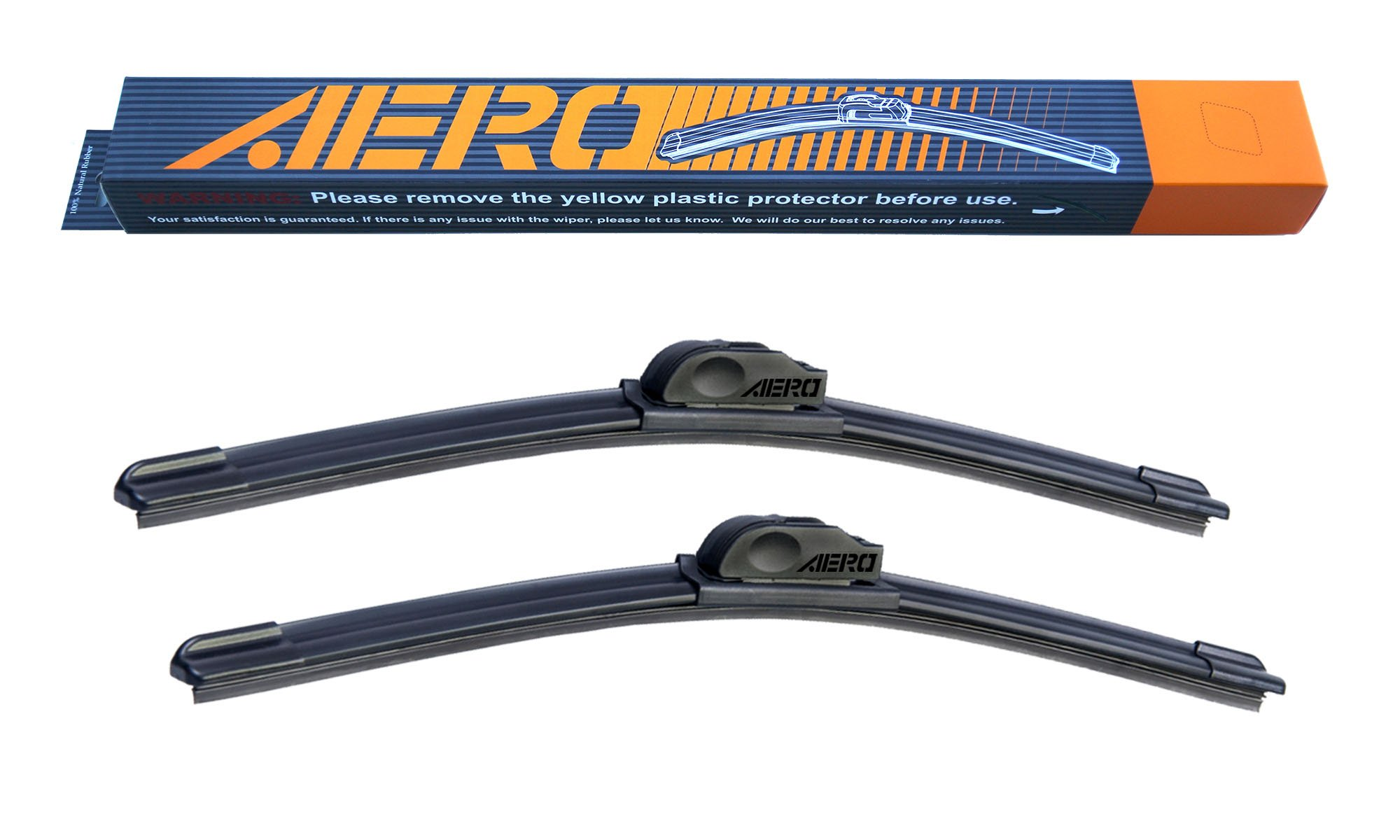 AERO 26'' + 19'' OEM Quality All Season Beam Windshield Wiper Blades (Set of 2)