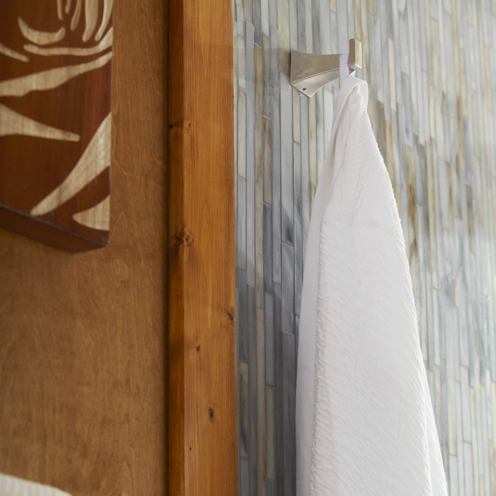 Mirabelle MIRVLRHPN Vilamonte Wall Mounted Single Robe Hook