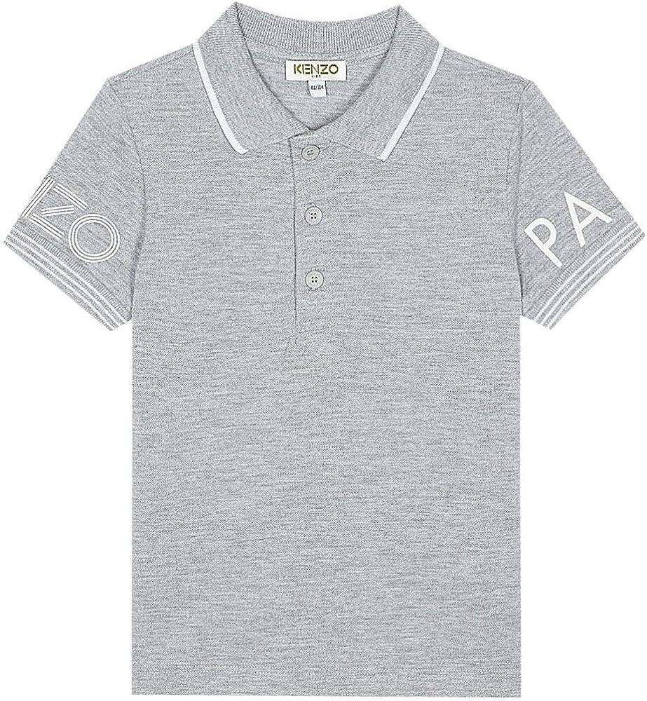Kenzo Kids Logo Polo Camiseta Gris Grey 10 Years: Amazon.es: Ropa ...