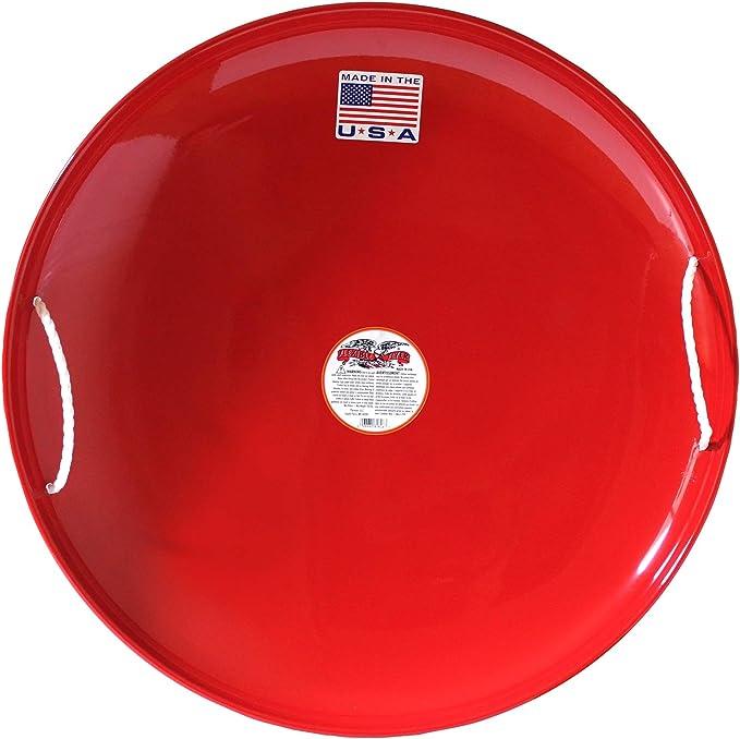 Sledge Snow Glider Plate Sled Slip Plate schneerutscher Speed Red