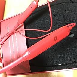 Amazon Co Jp 人気 女性 プレゼント ワイヤレス イヤホン Bluetooth 5 0 赤い かわいい コンパクト マグネット イヤフォン 人気 プレゼント 女の子 高音質 マイク 付き ブルートゥース いやほん 通話 12h 長時間 再生 防水 軽量 ネックバンド スマホ用 Iphone