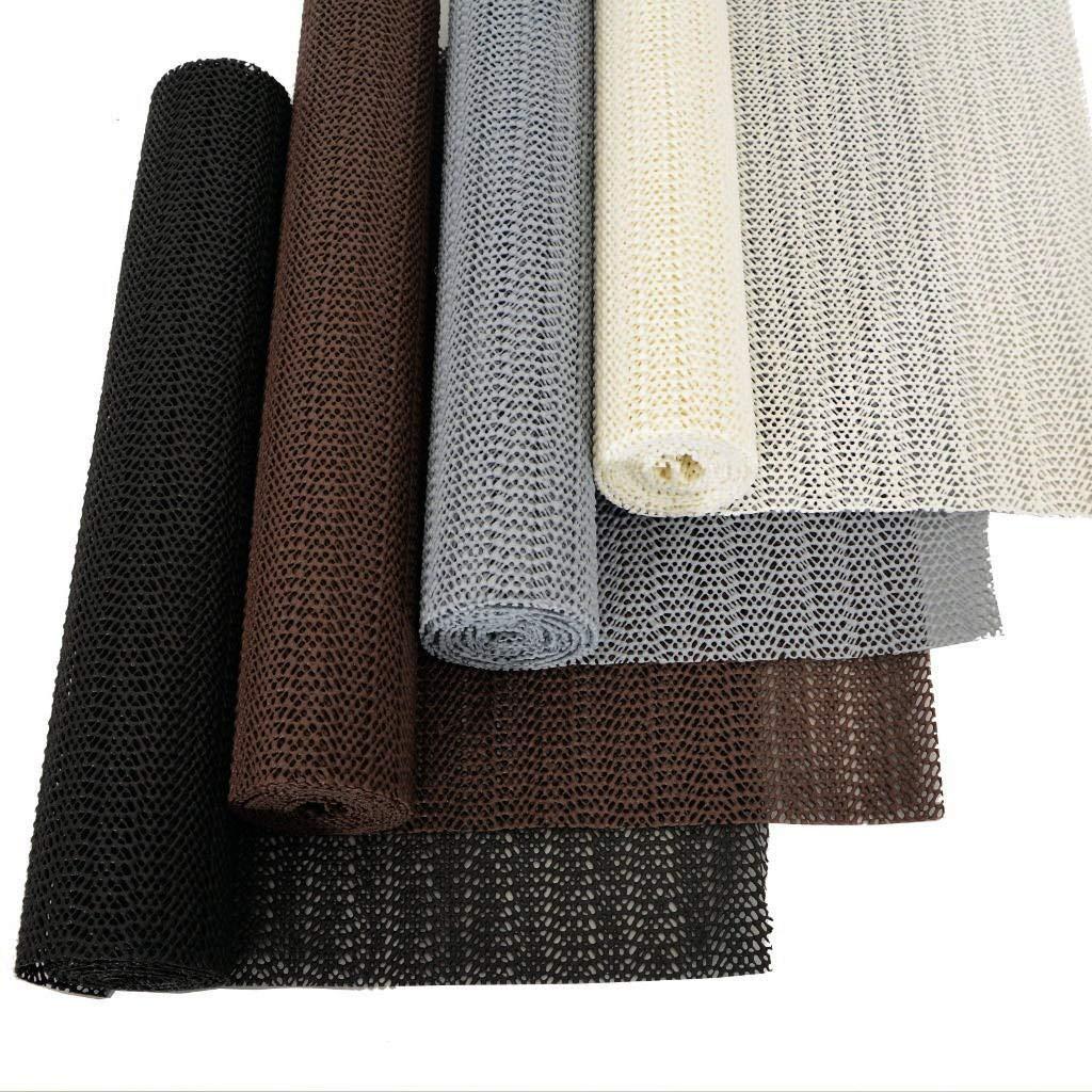 Antirutsch-Matte Teppich-Unterlage Kofferraummatte Fußmatte Teppich Stop Teppichunterlegmatte Schubladenmatte zuschneidbar von M&H-24 (Braun, 1 Stück - 30cm x 150cm) 1 Stück - 30cm x 150cm)