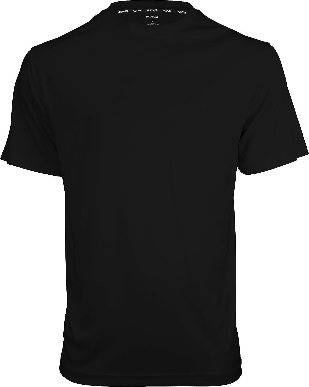 Marucci大人用パフォーマンスTee B072P6TVSG 4L|ブラック ブラック 4L