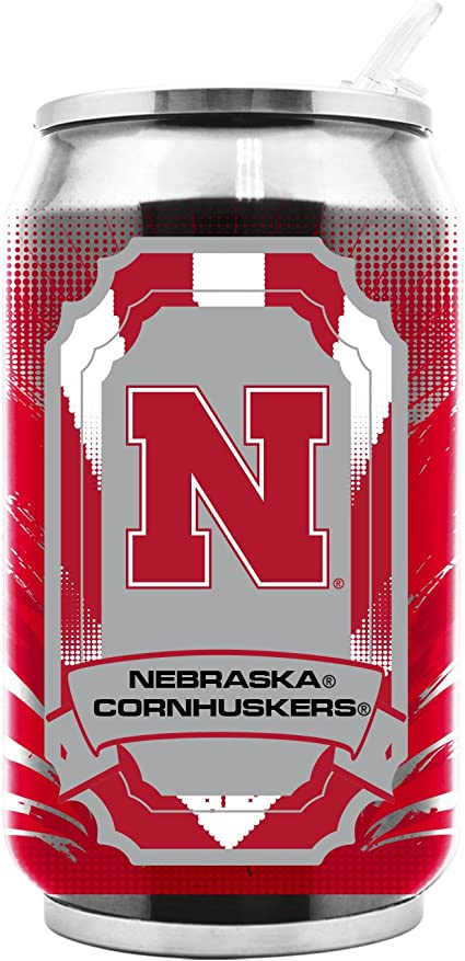 NCAA Ohio State Buckeyes 16oz Double Wall Stainless Steel Thermocan