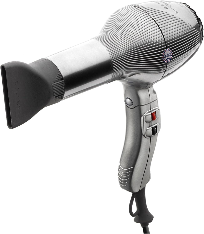Gamma Piu SECADOR Barber PHON Titanium, Gris, Estándar