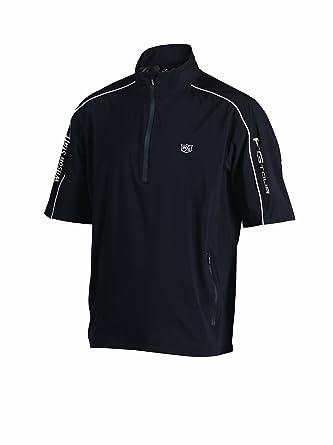 Wilson Staff - Chaqueta de golf para hombre, tamaño S, color negro: Amazon.es: Deportes y aire libre